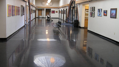 Polished Concrete floors commercial