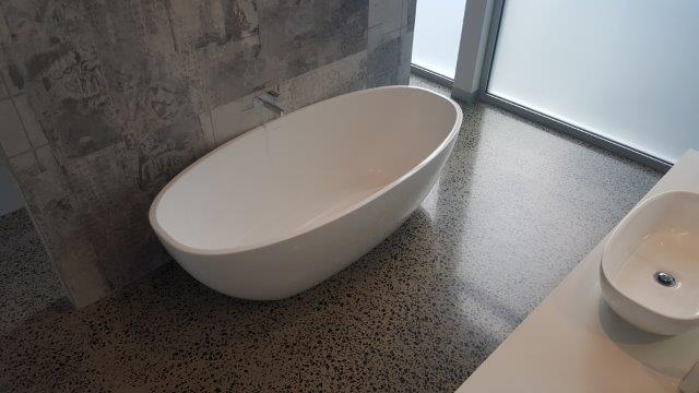 Say Yes To Polished Concrete Bathrooms Eco Grind