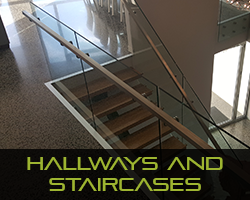 Eco Grind - Melbourne Polished Concrete Services Hallways & Staircases