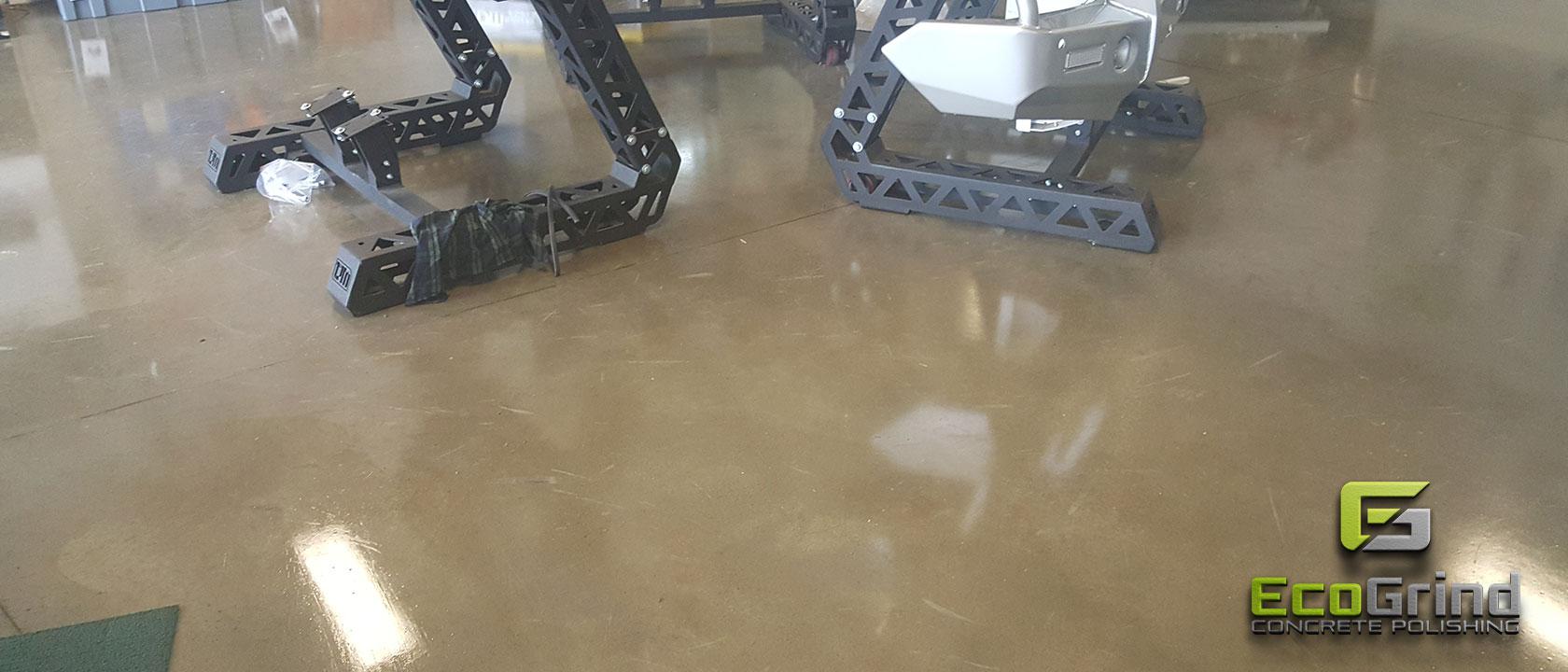 Eco Grind - Nil Exposure Finish Concrete Floors