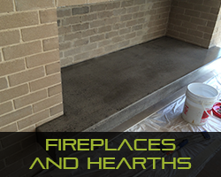 Eco Grind - Melbourne Polished Concrete Services Fireplaces & Hearths