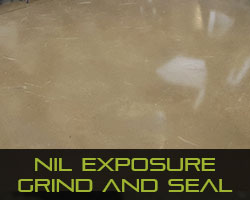 Eco Grind - Concrete Flooring Finishes Nil Exposure Finish