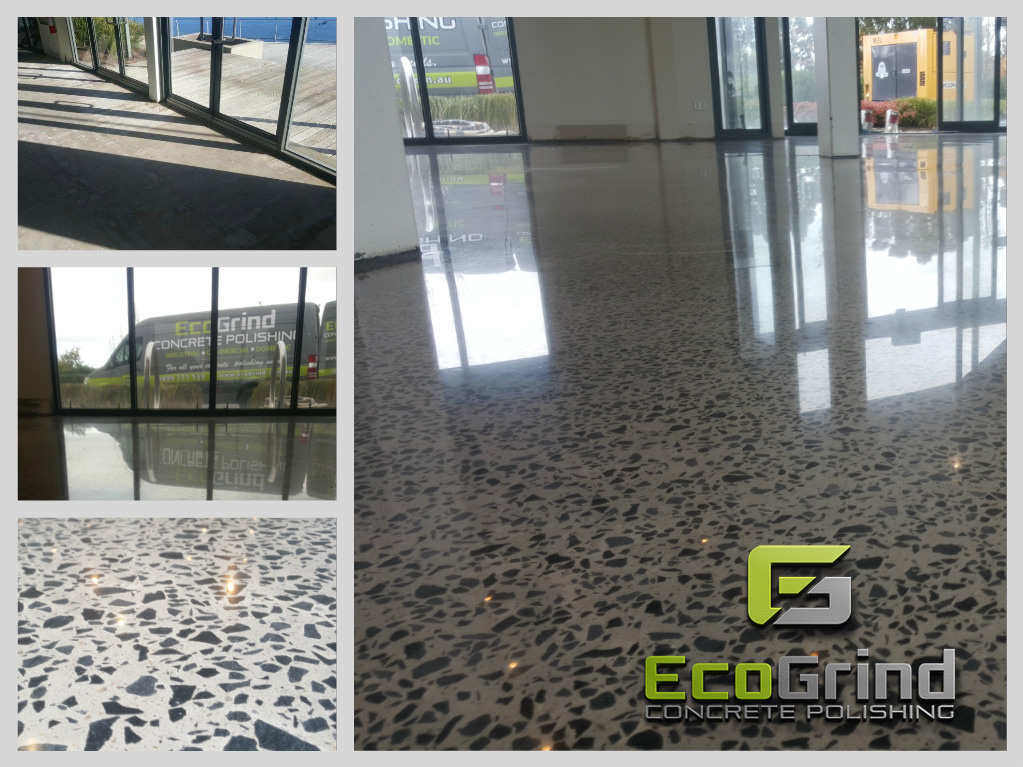 Polishing an Existing Concrete Slab Floor