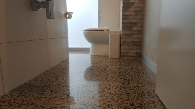 Professional Concrete Floor Bathrooms