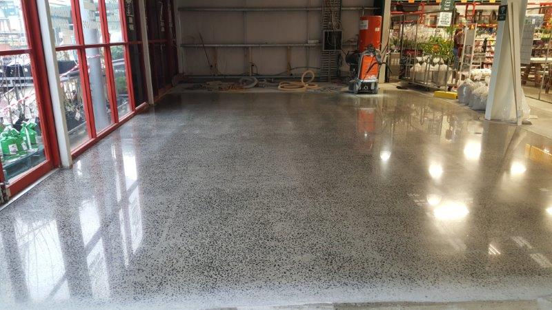 Commercial Polished Concrete Floor First Impressions