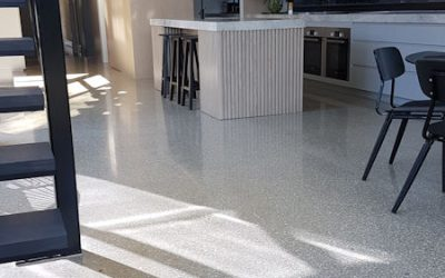 Full Exposure polished floors in Northcote