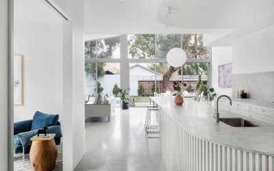 Concrete Floors in Kitchens