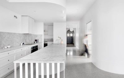 Kitchens with Polished Concrete Floors
