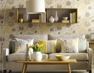 Yellow Themed Lounge Rooms with Polished Concrete Floors – Brighten Up Your Living Space
