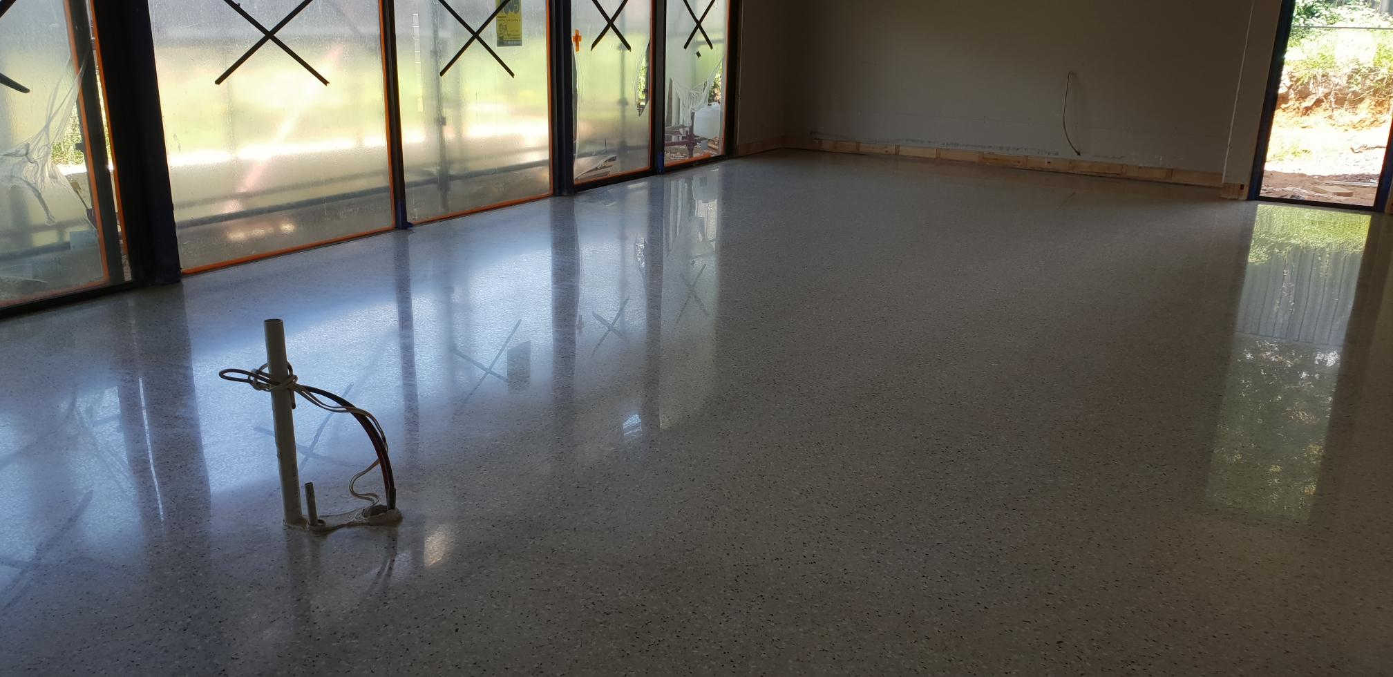 Glen Waverley Full Exposure Polished Concrete