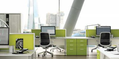 Green Themed Offices with Polished Concrete Floors – Go Green!