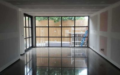 Kew Full Exposure Polished Concrete – Brand New Living Space