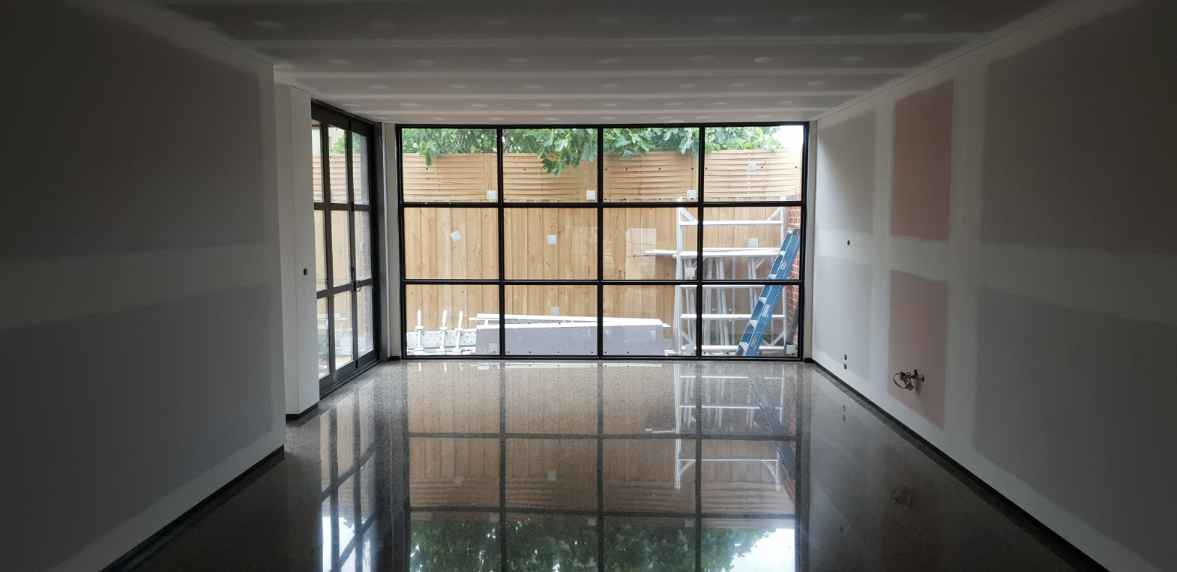 Kew Full Exposure Polished Concrete