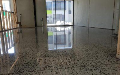 Mentone Full Exposure Polished Concrete