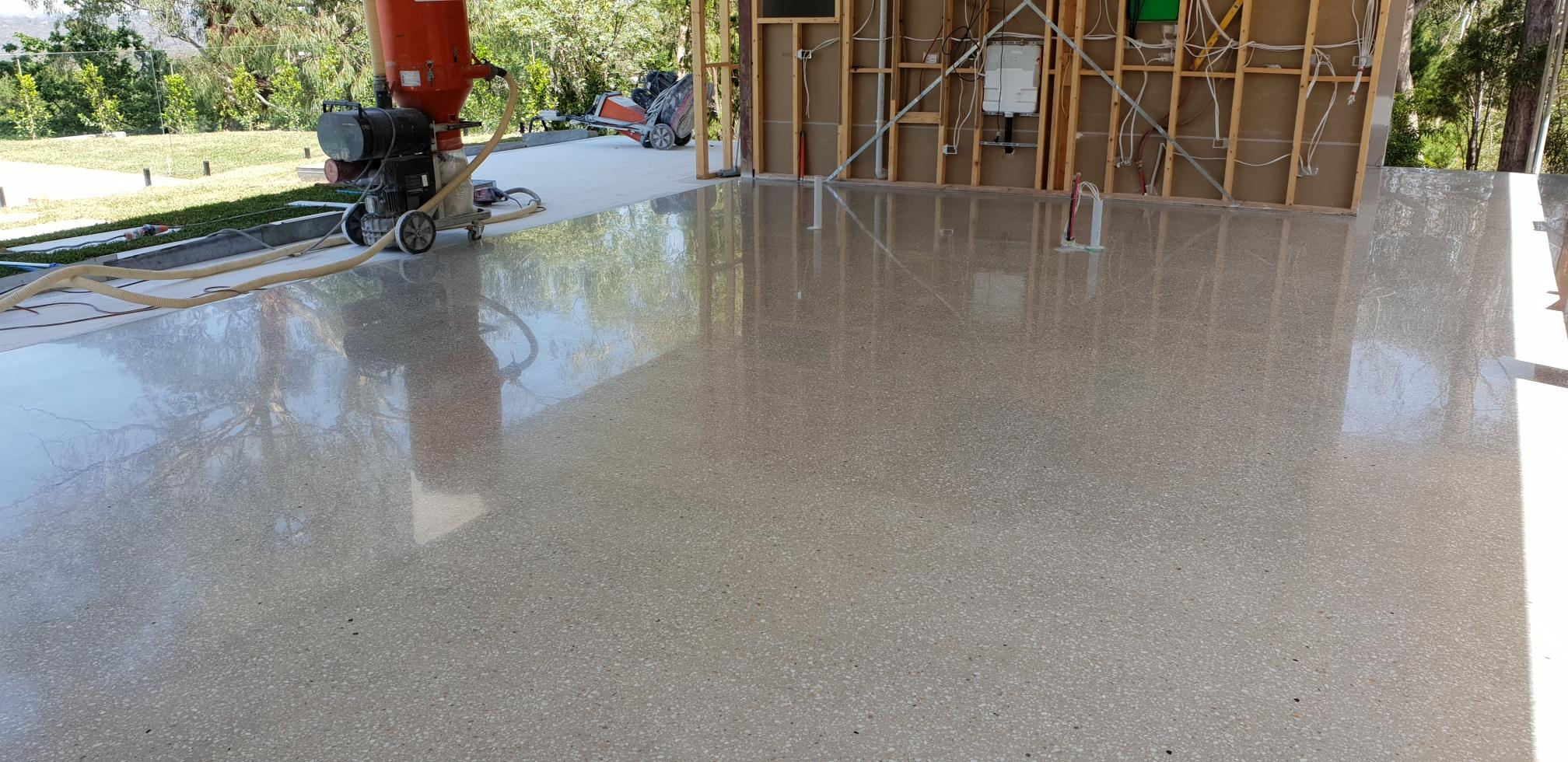 Montmorency Full Exposure Polished Concrete