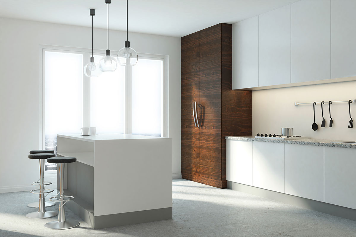 Modern Minimalist Concrete Polishing - Kitchens