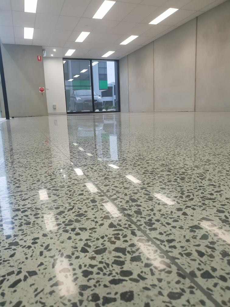 Eco Grind - Commercial Full Exposure Polished Concrete Moorabbin