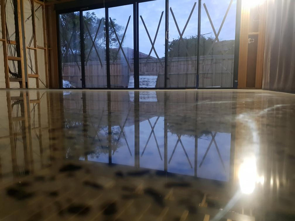 Mechanical Polished Concrete in Dandenong
