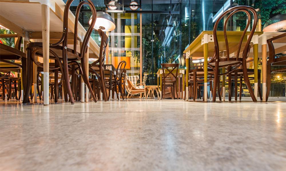 Concrete Floors in Restaurants