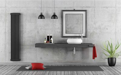 Polished Concrete Making A Statement in Your Bathroom