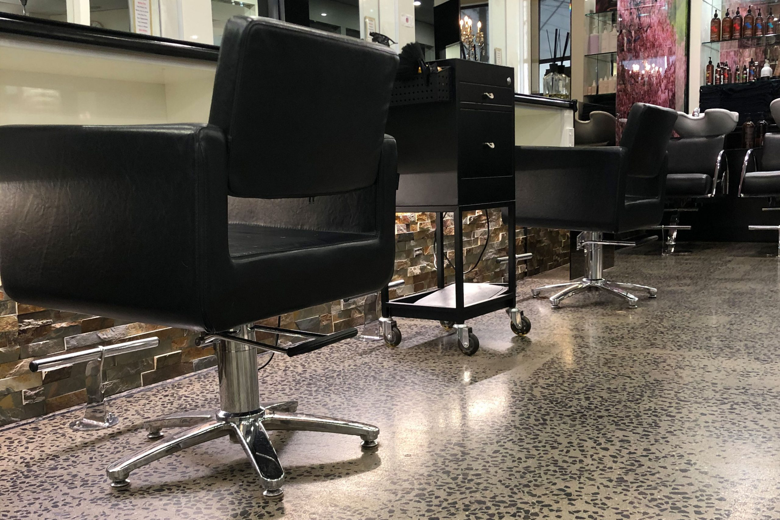 Concrete Floors in Beauty Salons